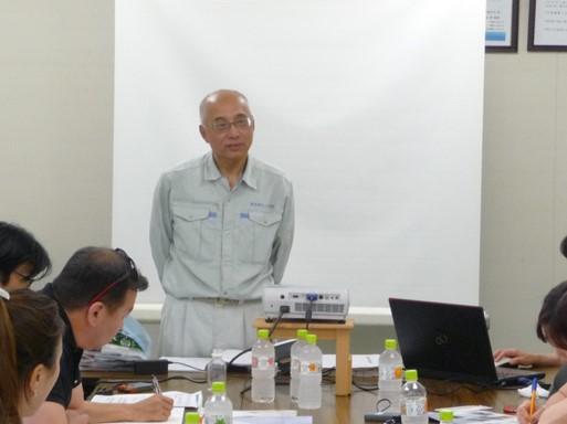 新生紙化工業(株)会長の 吉田 俊夫氏