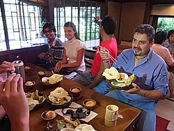 杉・五兵衛の有機野菜バイキング。