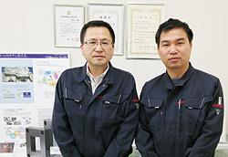 高田社長とクオンさん