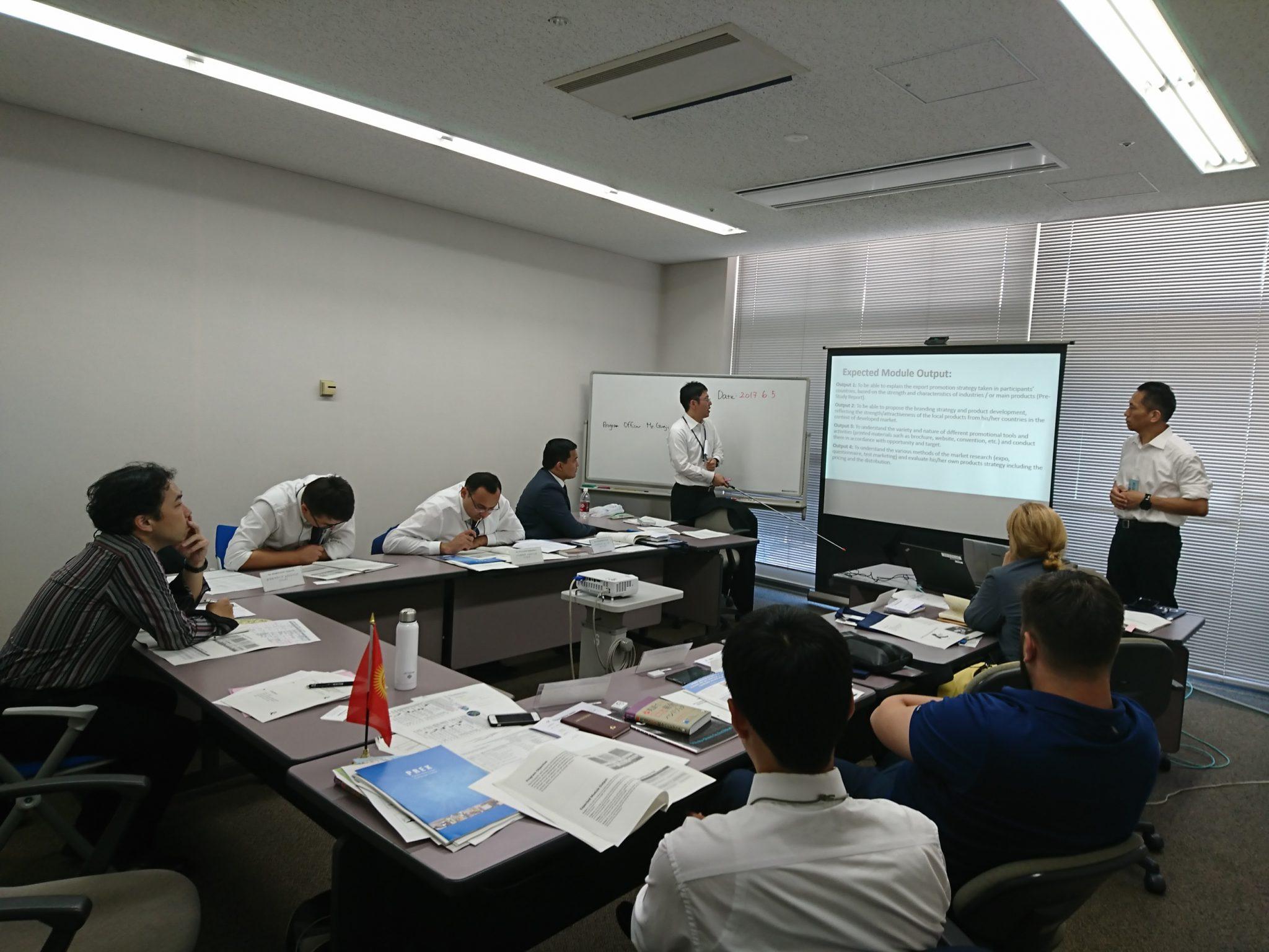 JICA先進国市場を対象にした輸出振興・マーケティング戦略(A)研修