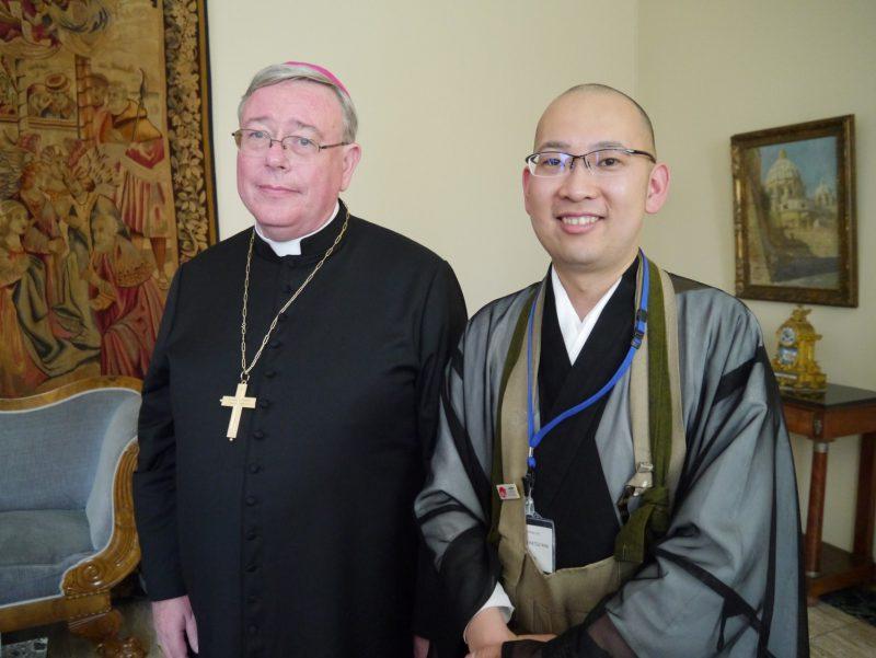 ルクセンブルク大司教のオロリッシュ氏との対談