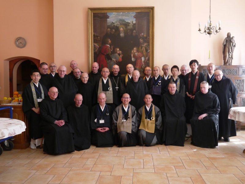 ルクセンブルグの修道院に滞在
