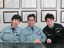 (株)中農製作所 西島大輔 取締役社長(写真右)