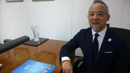 後藤先生から帰国研修員にむけたビデオメッセージ