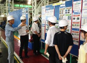 中川産業を訪問。