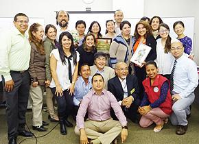 JICAコロンビア官民連携による地域産業・観光振興研修の参加者たち