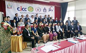 日本センターでの学びを活かし、ビジネスコンテストに臨むカンボジア・ラオス・タイの人たち