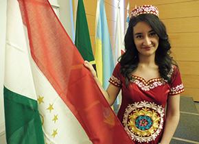 タジキスタン ディルノサさん 2017年度 JICA中小企業振興政策(A)に参加