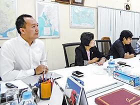 サイさん Sai Hla Htwe Earth Industrial(Myanmar) Co., Ltd./2017年度関経連アセアン経営研修に参加