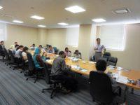 8カ国12名の研修員を受け入れて 公益財団法人 滋賀県産業支援プラザ副主幹 谷口直樹