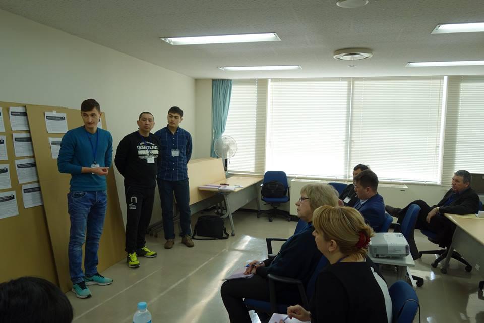 JICAキルギス、ウズベキスタン現地講師育成研修