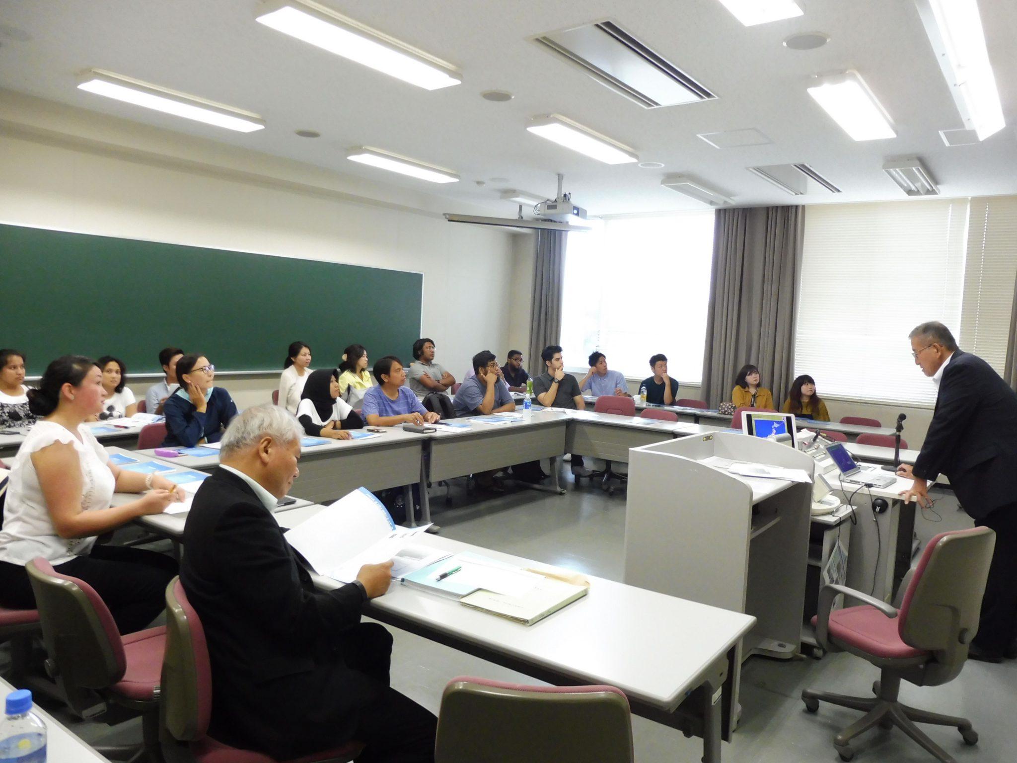 立命館大学で学ぶ留学生対象の日本企業理解プログラム
