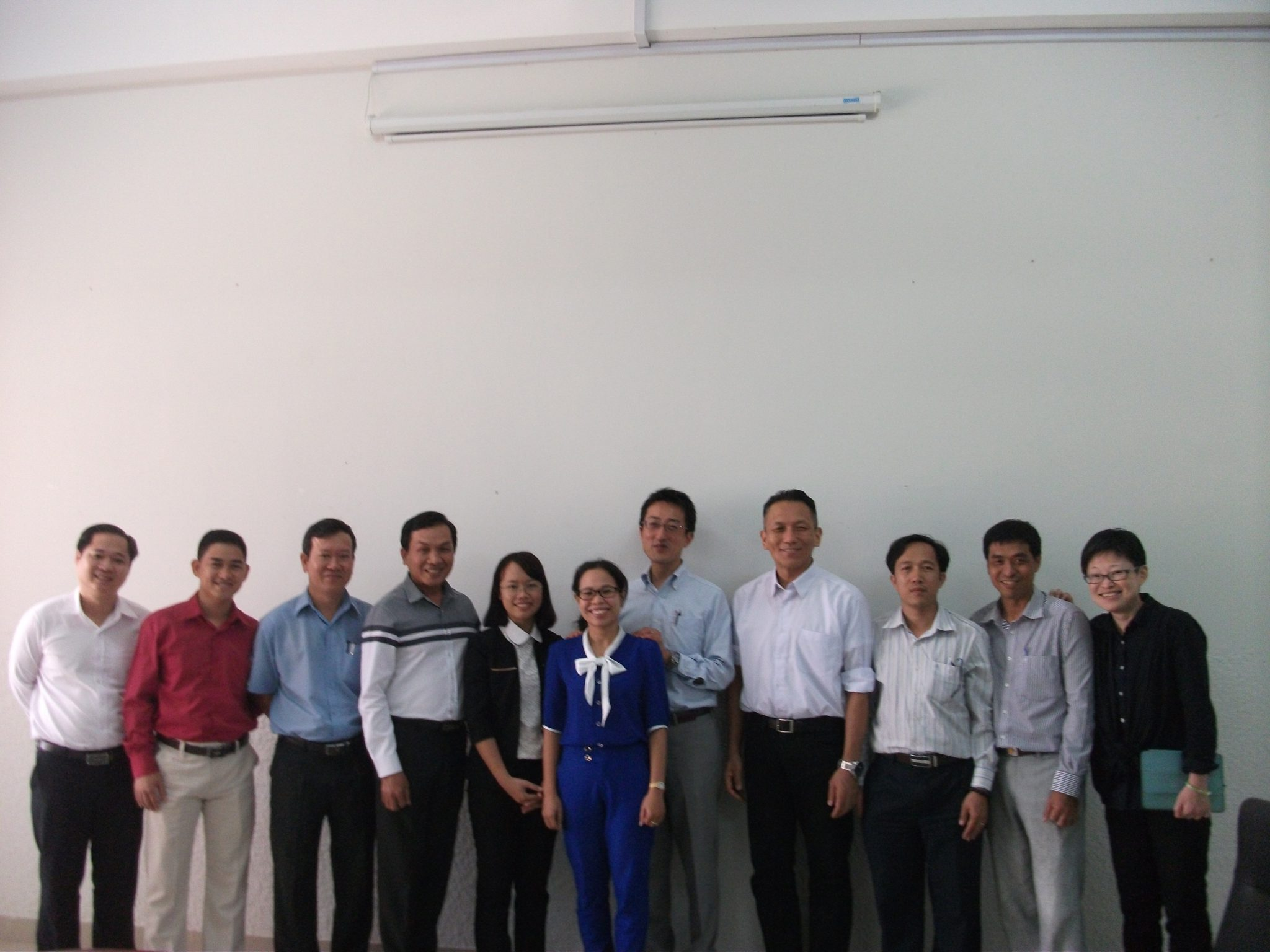 AOTSベトナム国ドンナイ省に おけるものづくり人材育成事業(専門家派遣)
