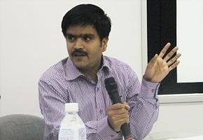 「日本企業に是非インドに来てほしいです」 インド小企業開発銀行 ムラディラン氏