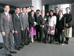 2013年カンボジア日本型経営研修に参加したカンボジア経営者