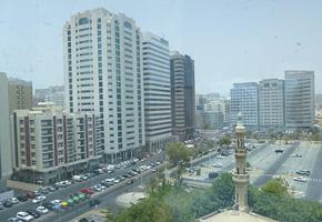 アラブ首長国連邦の町の様子