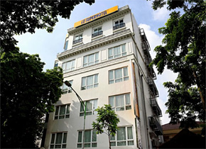 今年6 月にベトナム ハノイにオープンしたスーパーホテルハノイオールドクォーター