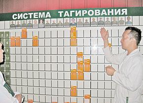 カザフスタンのカールスバーグ社。