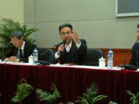 中国・上海市でのセミナーで講義いただいた今里部長。
