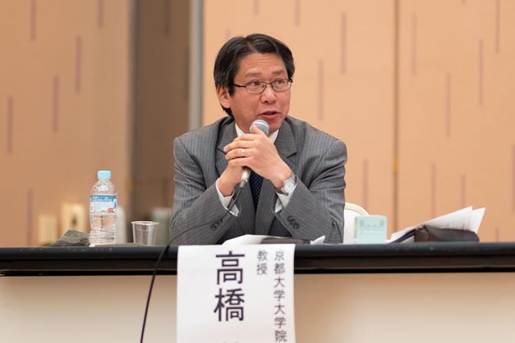 コーディネーター 高橋 基樹氏 (京都大学大学院)