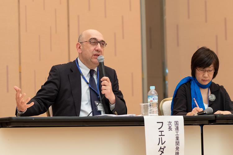 フェルダ ゲレゲン氏 (UNIDO東京投資・技術移転促進事務所 次長)