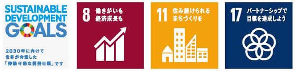 SDGs:No8・No11・No17