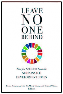 「Leave No One Behind: Time for Specifics on the Sustainable Development Goals」
