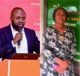 ナイジェリアのラゴス商工会議所ヘンリーさんと中小企業専門支援機関SMEDENレジーナさん