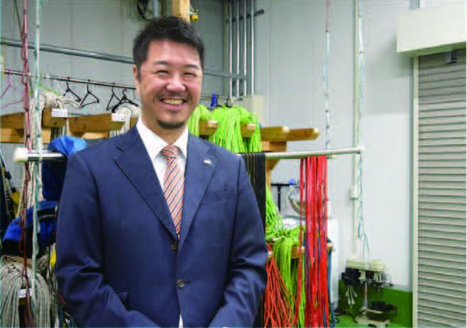 株式会社 特殊高所技術 代表取締役社長 和田 聖司氏
