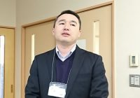 「しあわせ堂」専務取締役 バイボスノフ・ナズムさん(キルギス出身)