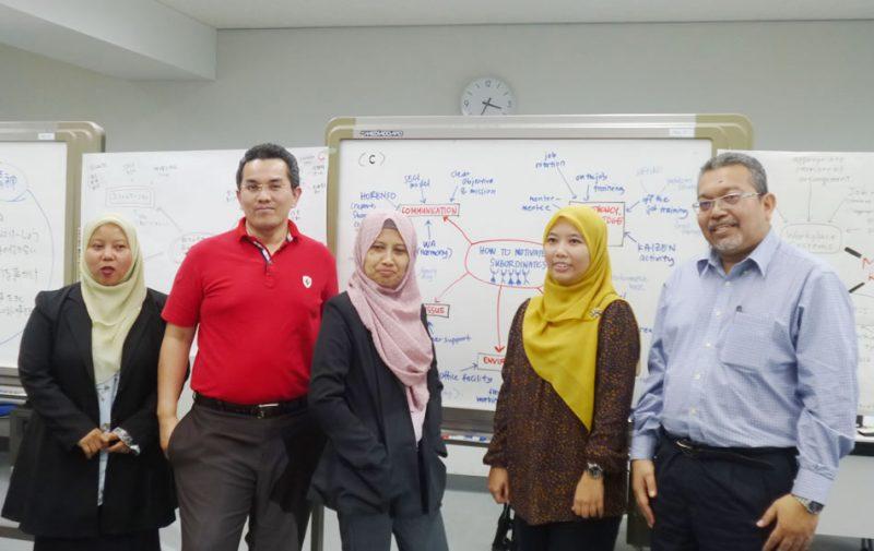 「JICAマレーシア中間管理職のための 指導教育」参加者