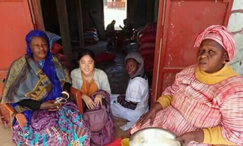 私が大切に している国。セネガル。