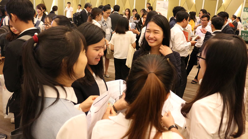 ABCプラットフォーム 「Global Talent & Business Meetup in Da Nang City」での様子。(2019年10月開催)