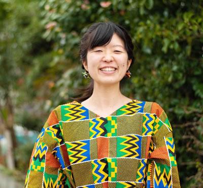 岡山県のやかげ町屋交流館で働く 田賀朋子さん。
