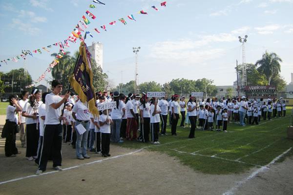日本語学校の行事:運動会