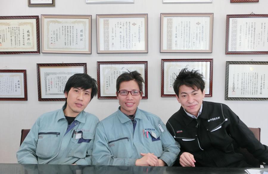 PREX「ベトナム人リーダー育成研修」研修中