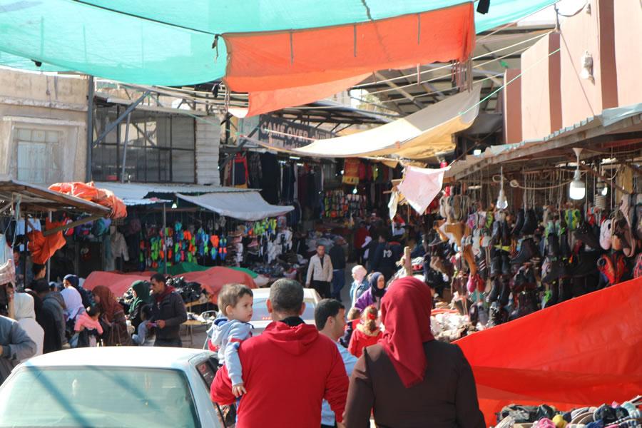 ヨルダンの市場